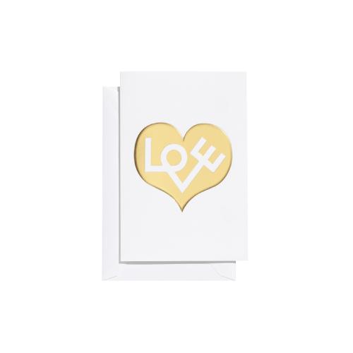 Love Heart, dourado